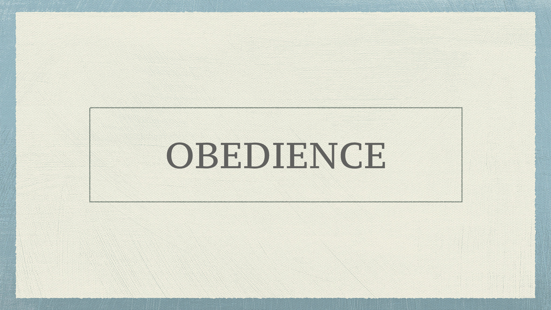 obedience to parents and teachers essays We are taught at an early age to obey parents, teachers,  but decades of research on conformity and obedience make it clear that we live in a social world and.